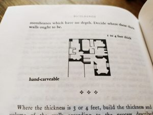 Christopher Alexander Pattern 197 Thick Walls